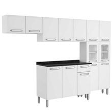 Cozinha Modulada Evidence Aço 4 Módulos Composição 43 Branco - Bertolini