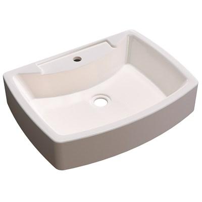 Cuba Pia De Apoio Para Banheiro  Retangular Aria RT50 Bege C08 - Mpozenato