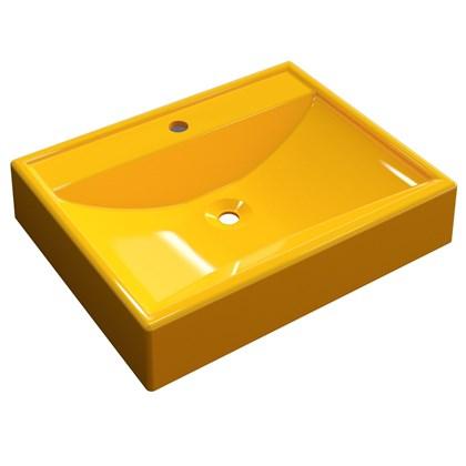 Cuba Pia de Apoio para Banheiro Retangular RT49 C08 Amarelo - Mpozenato
