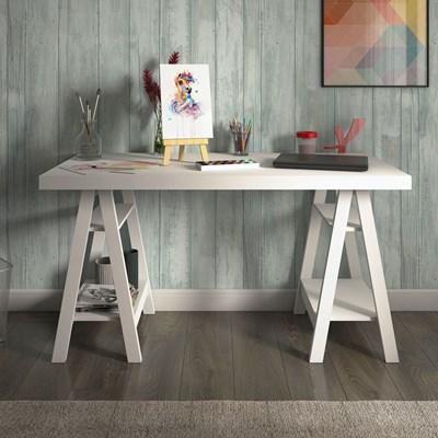 Escrivaninha Cavalete Art Web Branco - Artany