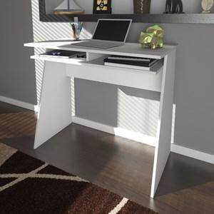 Escrivaninha Home Office 1 Prateleira Mobile Kiev Branco - Artany