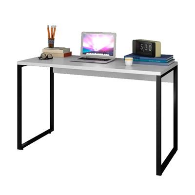Escrivaninha Mesa de Escritório Studio Industrial 120 M18 Branco – Mpozenato