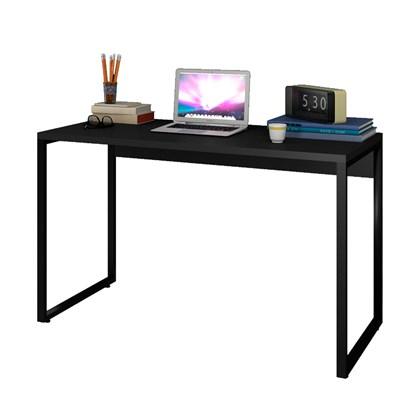 Escrivaninha Mesa de Escritório Studio Industrial 120 M18 Preto – Mpozenato
