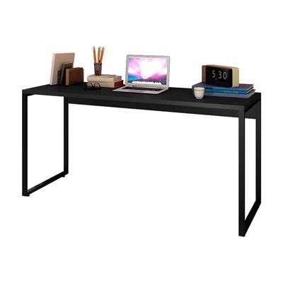 Escrivaninha Mesa de Escritório Studio Industrial 150 M18 Preto - Mpozenato