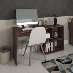 Escrivaninha Mesa para Computador 4 Nichos Mobile Urban Ipê - Artany