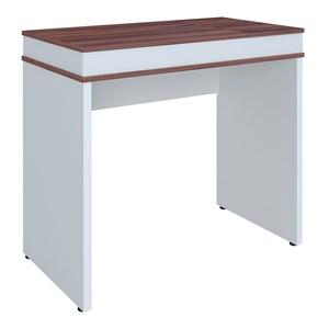 Escrivaninha Office com Tampo Dobrável Mobile Mind Ipê/Branco - Artany