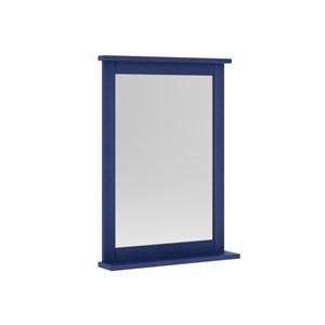Espelheira Para Banheiro 53 cm Azul - Mão & Formão
