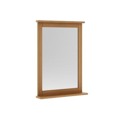 Espelheira Para Banheiro 53 cm Jatobá - Mão & Formão