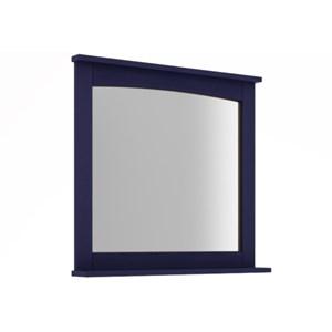 Espelheira Para Banheiro 78 cm Azul - Mão & Formão