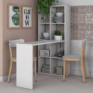 Estante Bancada para Cozinha 8 Nichos Cube BMU 138 Branco – BRV Móveis