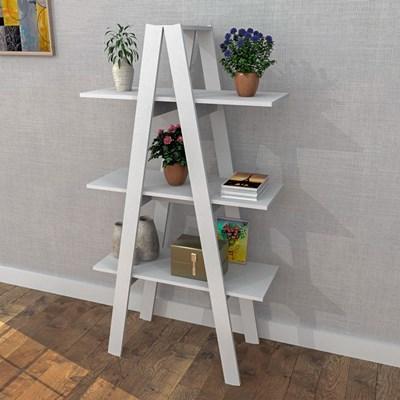 Estante Escada 3 Prateleiras Self EST 3002 Branco - Appunto