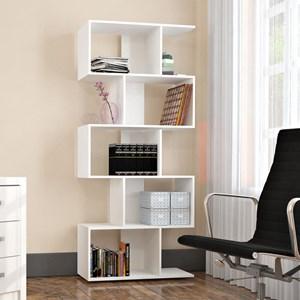Estante Livreiro 5 Nichos Office Plus EST 0202 Branco - Appunto