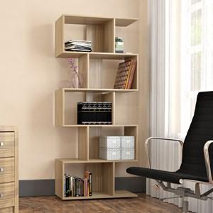 Estante Livreiro 5 Nichos Office Plus EST 0202 Castanho - Appunto