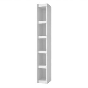 Estante Livreiro Componível com 25 cm de Largura BL 12 Branco - BRV