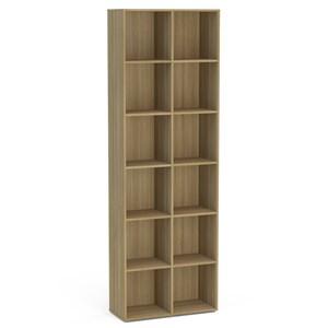 Estante Multifuncional Caracol com 12 Nichos Castanho - Politorno