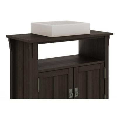 Gabinete Para Banheiro 2 Portas Mission Nogueira - Mão & Formão