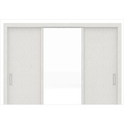 Guarda Roupa 03 Portas de Correr com Espelho Residence Branco - Demóbile