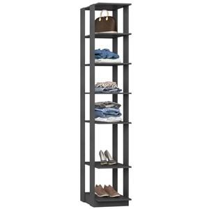Guarda Roupa Closet Clothes 1001 6 Prateleiras Espresso - BE Mobiliário