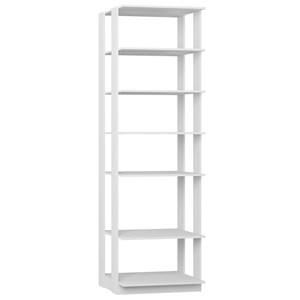 Guarda Roupa Closet Clothes 1002 6 Prateleiras Branco - BE Mobiliário