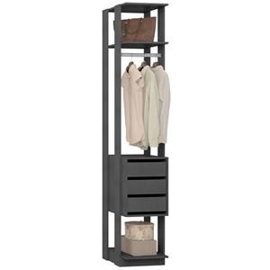 Guarda Roupa Closet Clothes 1003 3 Gavetas Espresso - BE Mobiliário