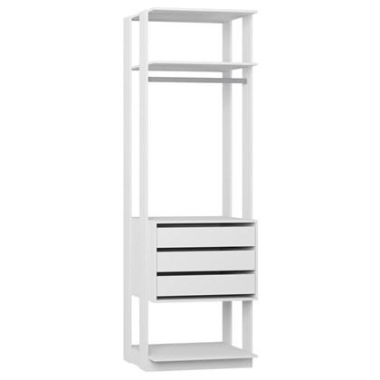 Guarda Roupa Closet Clothes 1004 3 Gavetas Branco - BE Mobiliário