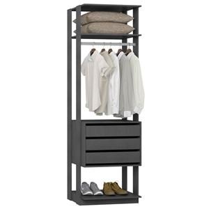 Guarda Roupa Closet Clothes 1004 3 Gavetas Espresso - BE Mobiliário