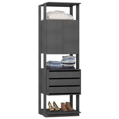 Guarda Roupa Closet Clothes 1006 2 Portas Espresso - BE Mobiliário