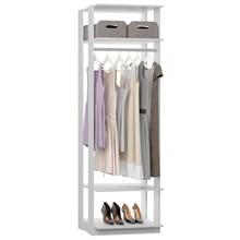Guarda Roupa Closet Clothes 1008 3 Prateleiras Branco - BE Mobiliário