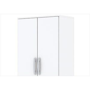 Guarda Roupa Multiuso B14 02 Portas com Pés Branco - Briz
