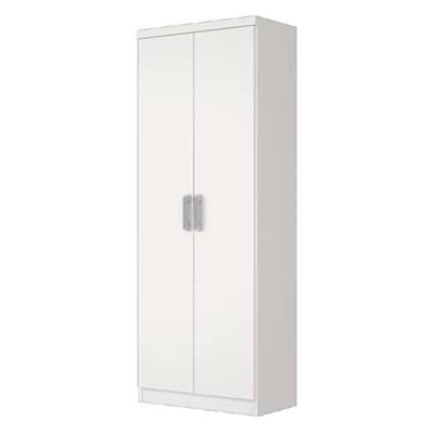 Guarda Roupa Multiuso Margarida 02 Portas de Abrir Branco - Henn
