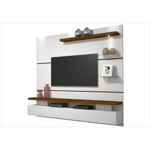 Home Suspenso para TV Greco Branco/Rústico Malbec - Dj Móveis