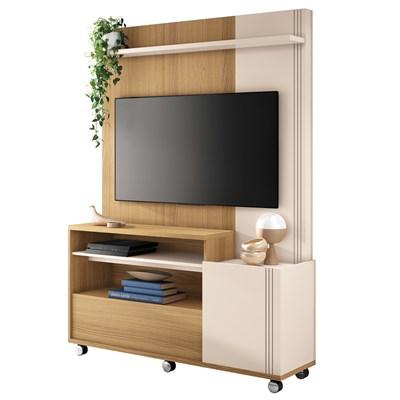 Home Theater Para TV Até 50 Pol. Timber H01 Freijó/Off White - Mpozenato