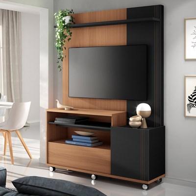 Home Theater Para TV Até 50 Pol. Timber H01 Nature/Preto - Mpozenato