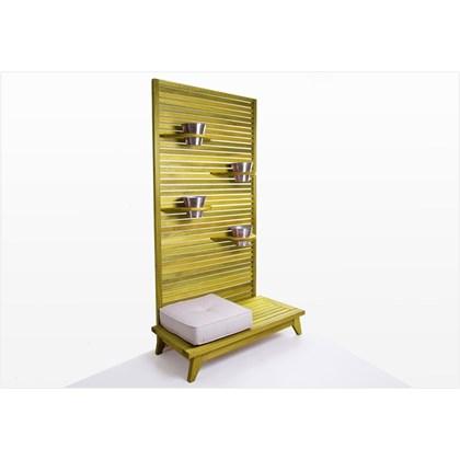 Jardineira Vertical Zen Stain Amarelo - Mão & Formão