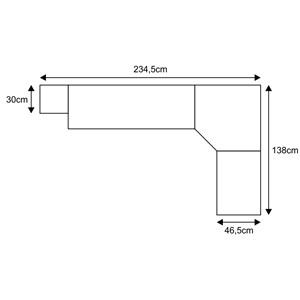 Jogo de Quarto Solteiro Modulado Smart 032 Crema/Branco - Eucamóveis