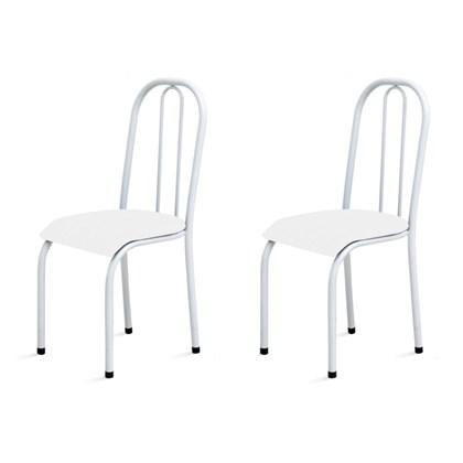 Kit 2 Cadeiras Baixas 0.104 Anatômica Branco - Marcheli