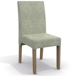 Kit 2 Cadeiras CAD107 para Sala de Jantar Nogal/Lima - Kappesberg