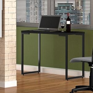 Kit 2 Mesas Para Computador Escrivaninha Porto 90cm Preto - Fit Mobel