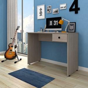 Kit 2 Mesas para Computador Notebook Escrivaninha 101cm Dubai Carvalho Bruma - Mpozenato