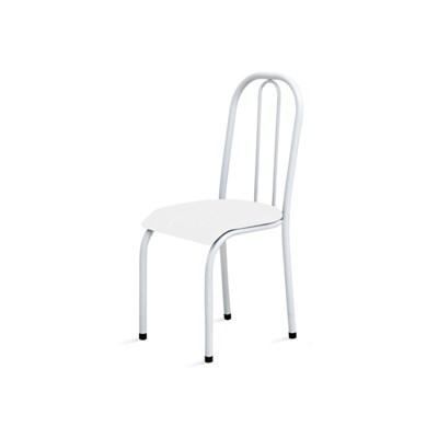 Kit 4 Cadeiras Baixas 0.104 Anatômica Branco - Marcheli