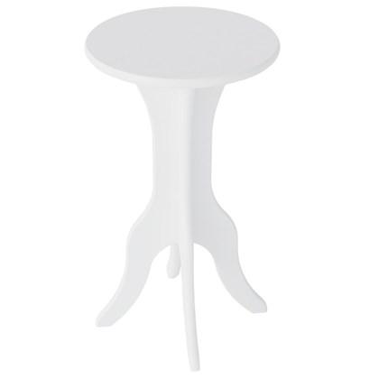Mesa de Apoio Lateral Kin Branco - Artely