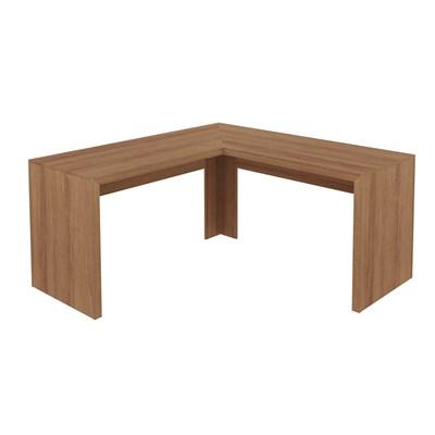 Mesa de canto para Home Office ME4116 Amendoa – Tecno Mobili