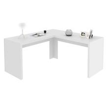 Mesa de canto para Home Office ME4116 Branco  13 Tecno Mobili