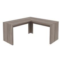 Mesa de canto para Home Office ME4116 Carvalho – Tecno Mobili