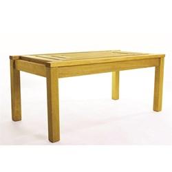 Mesa de Centro Echoes Stain Amarelo - Mão & Formão