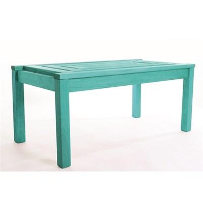 Mesa de Centro Echoes Stain Azul - Mão & Formão