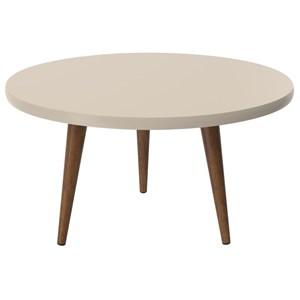 Mesa de Centro Legs Off/White - Patrimar Móveis