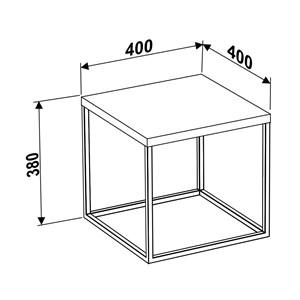 Mesa de Centro M Cube 24802 Vermont - Artesano
