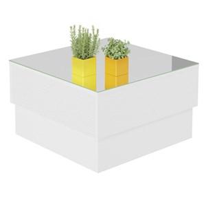 Mesa de Centro Parati Branco - Artely