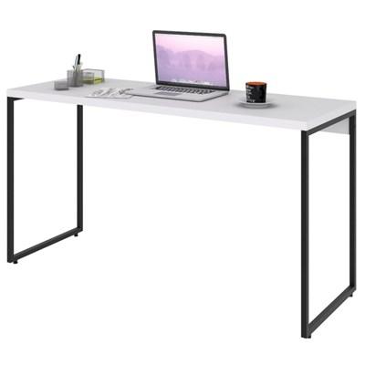 Mesa de Escritório Escrivaninha 135cm Dynamica Industrial C08 Branco Chess - Mpozenato